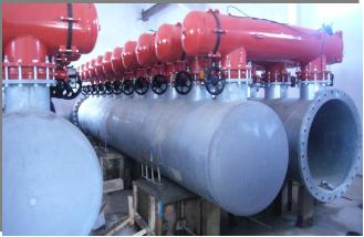 Montage des équipements hydromécaniques